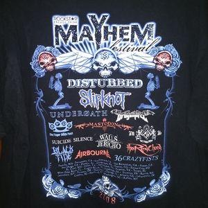 ROCKSTAR MAYHEM FESTIVAL T-SHIRT - Metal Music Tee